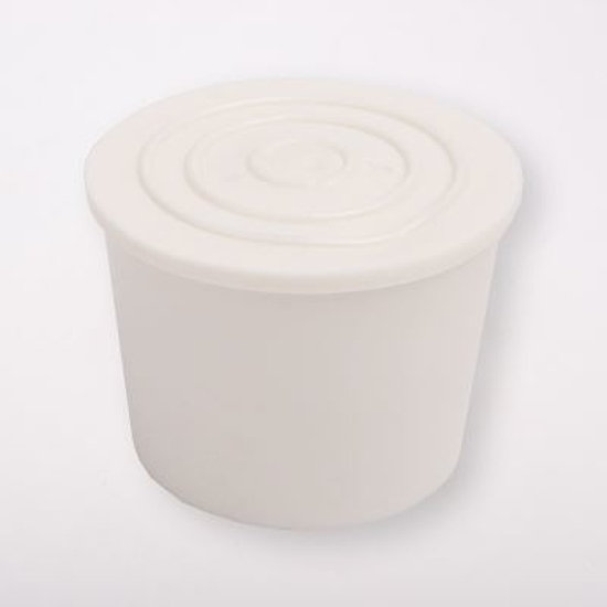 Fehér gumidugó, 6-os méret 18180F