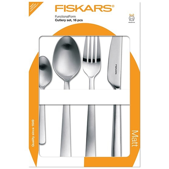 Fiskars Evőeszköz készlet, 16db-os, matt (csak rendelésre) - 1002958