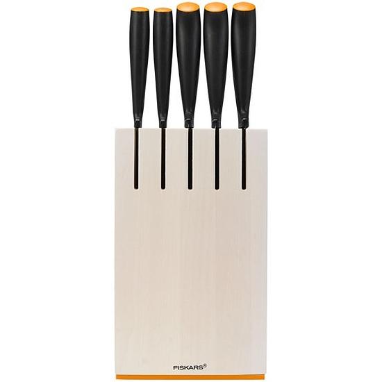 Fiskars Késblokk 5 db késsel, fehér (csak rendelésre) - 1014209