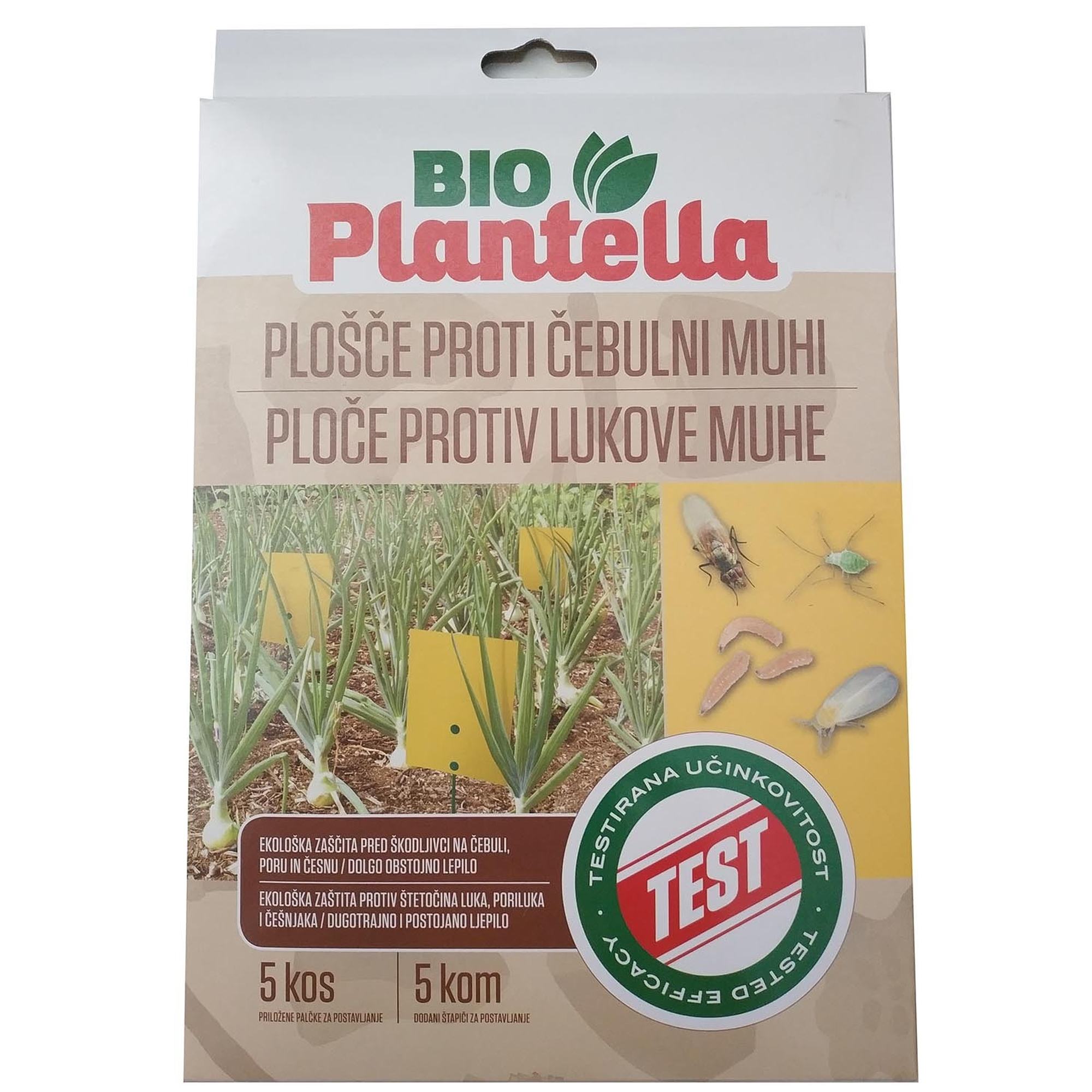 Bioplantella Sárgalap Hagyma - 5 Db/Csom. 52806