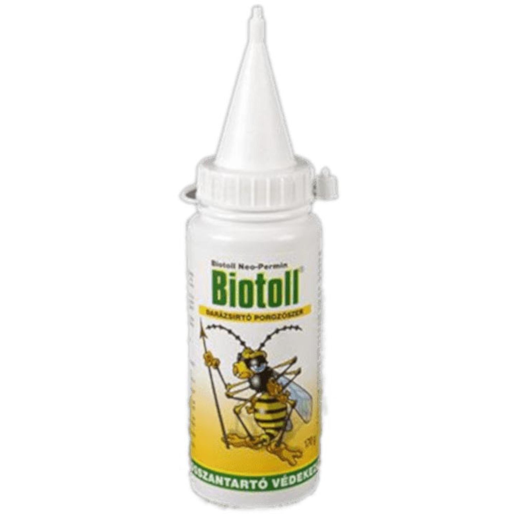 Biotoll Darázsirtó Porozószer 170g 50148