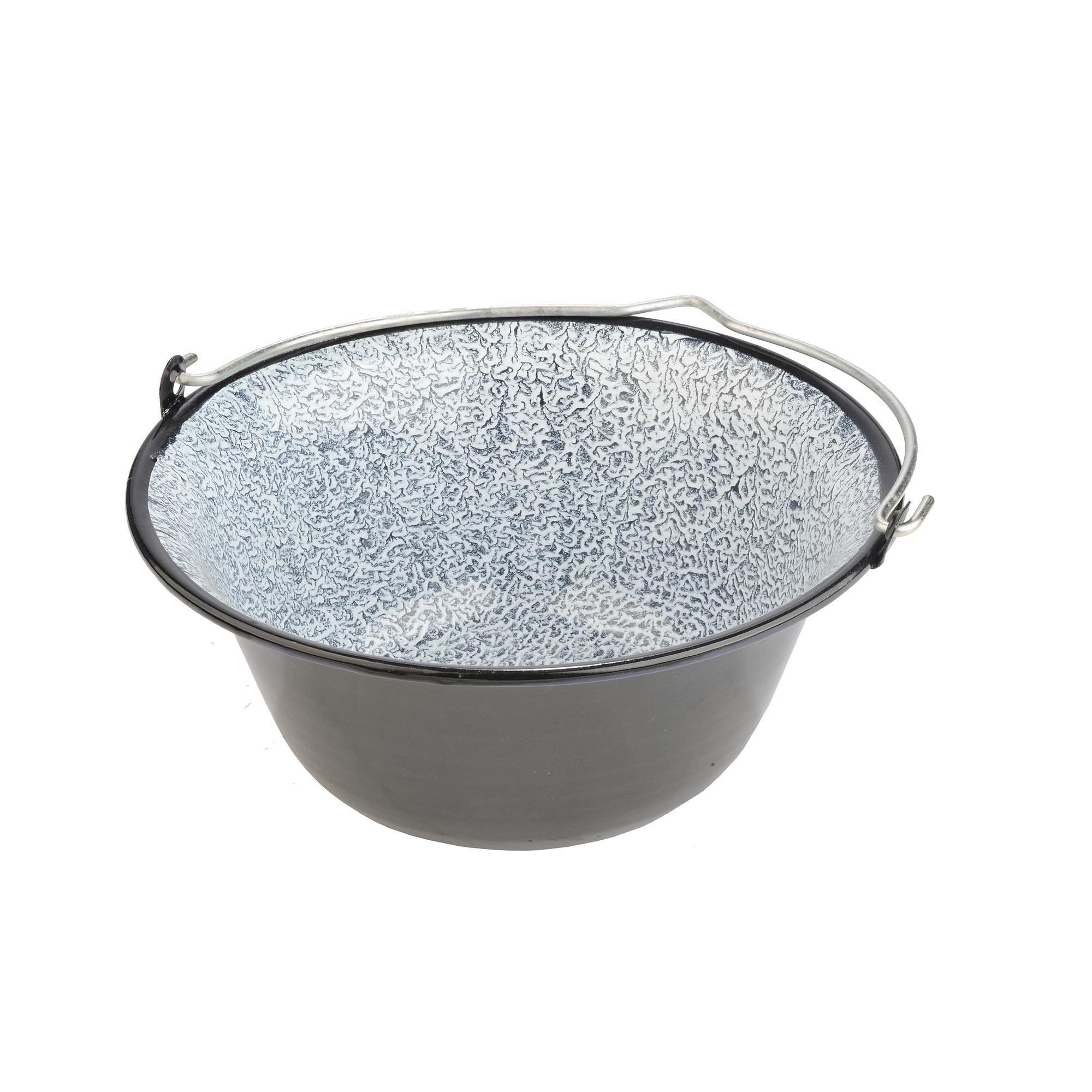 Bogrács Zománcos-gulyás 16 liter 4356