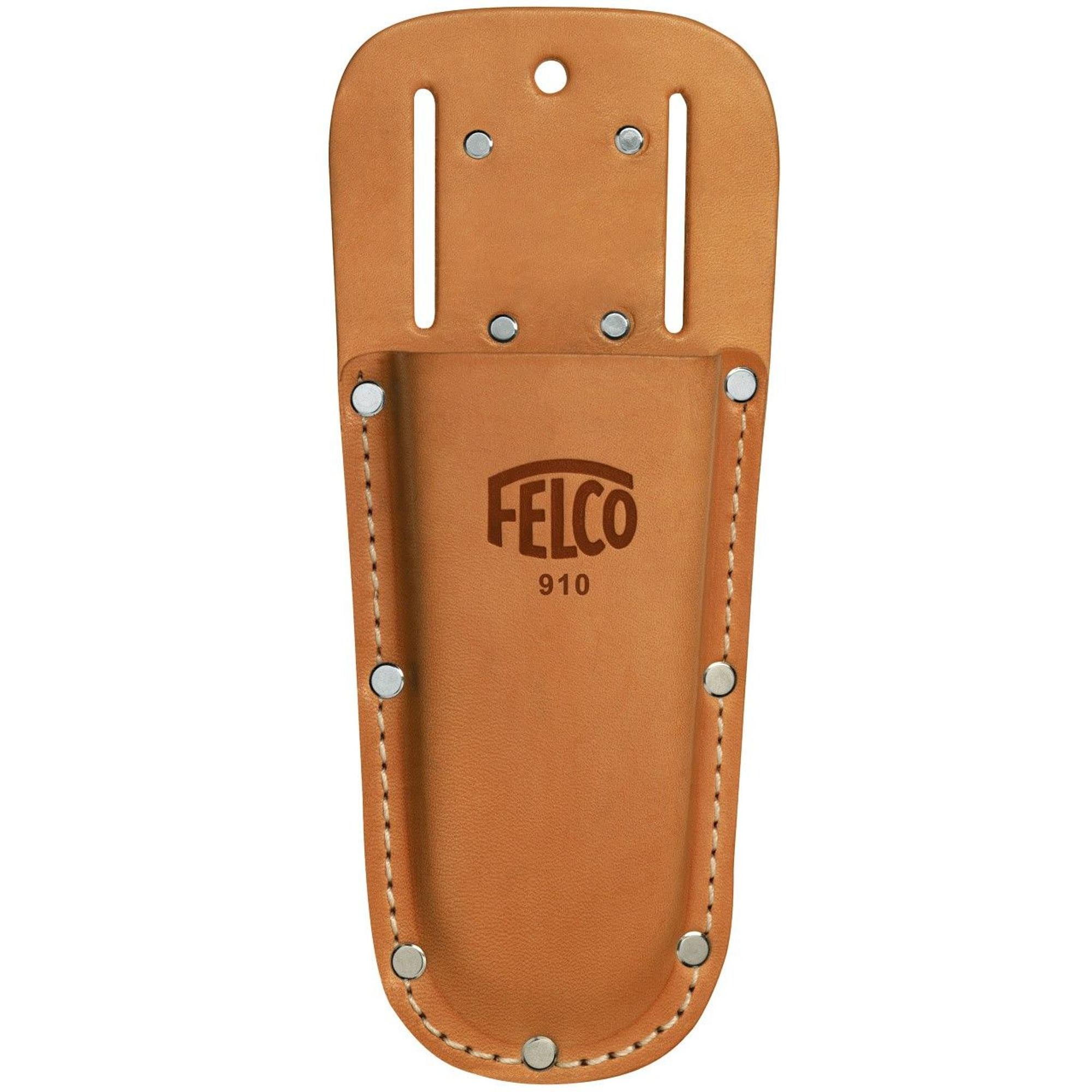 FELCO 910 Bőr - övtartóval és kapoccsal