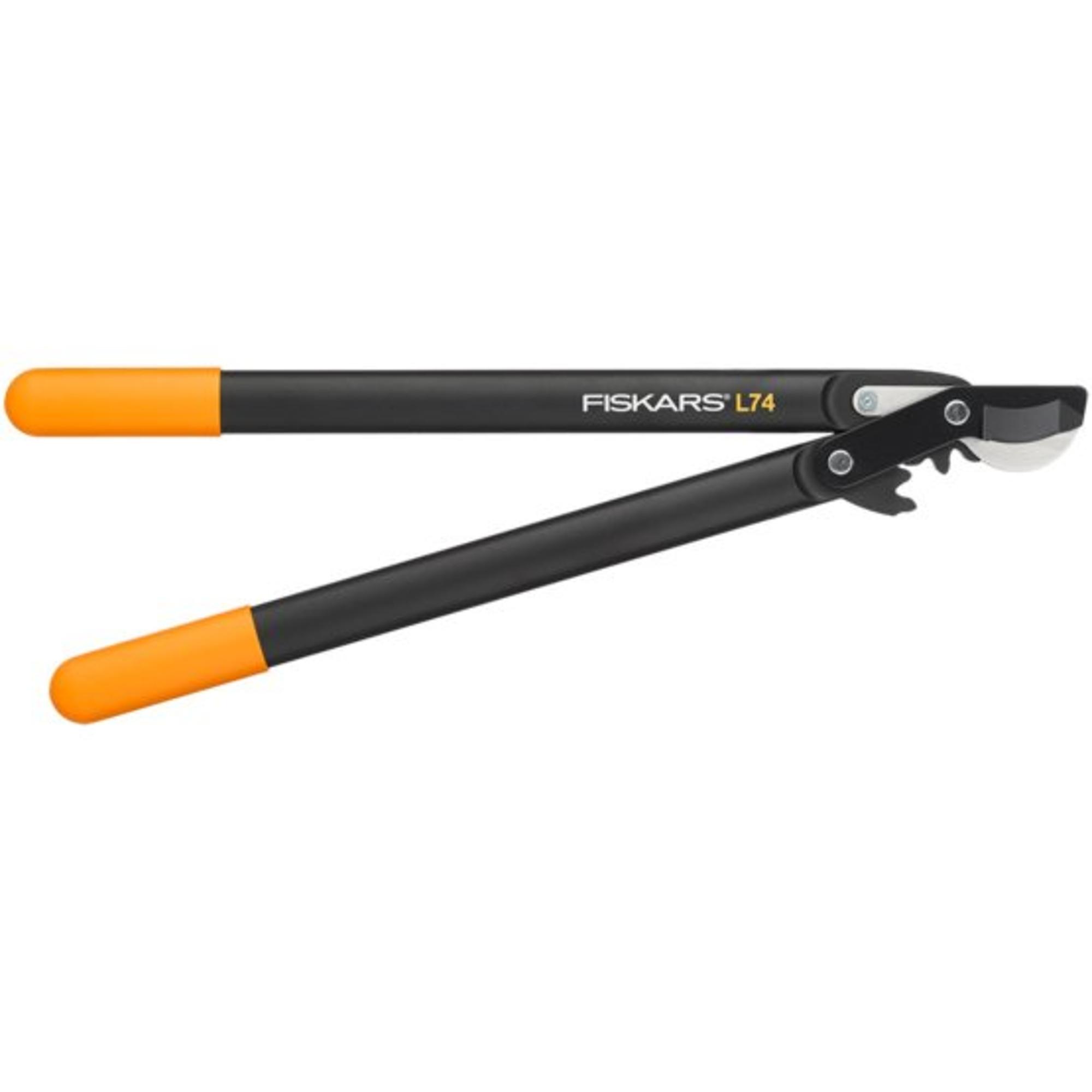 Fiskars PowerGear™ műanyag fogaskerekes ágvágó, horgos fejű (M) L74 - 1000582