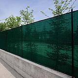 Árnyékoló háló kerítésre Zöld 90g/m2 1,5x50m