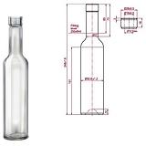 BELLA pálinkás üveg 0,25 liter BELLA 250