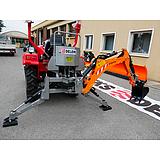 Deleks Árokásó Traktorhoz DK-950