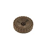 Fűnyíró kerék   adapterhez 15cm  gumírozott 0005 2515