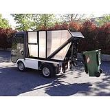 Gastone elektromos kisteherautó Billenthető szemétgyűjtővel