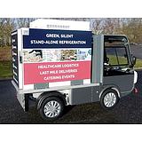 Gastone elektromos kisteherautó Hőtárolós raktérrel