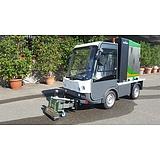 Gastone elektromos kisteherautó Vegyszermentes gyomirtóval