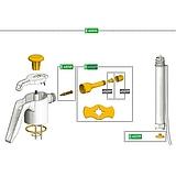 Javítókészlet 4501C GARDEN permetezőhöz (1,5-2 l) 1035019