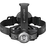 LEDLENSER MH11 szürke tölthető fejlámpa Bluetooth 1000 lm 18650