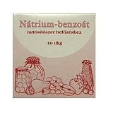 Nátrium-benzoát, tartósítószer befőzéshez 10dkg