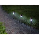 Nortene ASTRA leszúrható napelemes lámpa - ? 5,5 x 28 cm  -  ezüst - 2014468