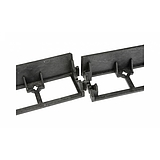 Nortene BORDER 45 szegély - 100 x 8 x 4,5 cm / 1 db szegély  -  fekete - 2012423