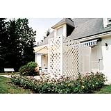 Nortene CLASSIC dekoratív kültéri panel - 1 x 2 - fehér - 179102