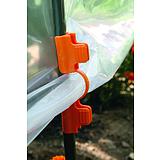 Nortene CLIPS TUTEURS klipsz fólia rögzítéséhez - ? 13 mm   -  narancssárga - 2005817