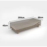 Nortene COVERTOP bútortakaró 90 g/m2 - 200 x 80 x h.40 cm  -  nyugágy - drapp - 2013603