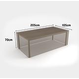 Nortene COVERTOP bútortakaró 90 g/m2 - 205 x 105 x h.70 cm  -  asztal - drapp - 2013598