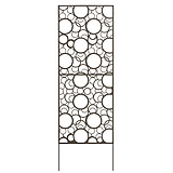 Nortene DECORATION PANEL fém elválasztó panel  - 0,6 x 1,5 m -  barna - 2012056