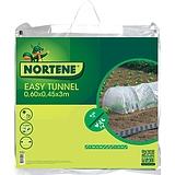 Nortene EASY TUNNEL 120 µm LDPE fólia alagút - 0,6 x 0,45 x 3 m -  színtelen - 130200
