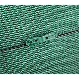 Nortene FIXATEX rögzítő kapocs szőtt árnyékoló hálóhoz - 2 x 2,5 cm  -  zöld - 147121