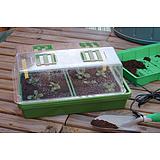 Nortene HEATING GROW fűthető mini üvegház - 39 x 25 x 20 cm  -   - 160019