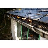 Nortene LEAFPROTEC ereszcsatorna védő háló - 0,17 x 6 m  -  fekete - 600201