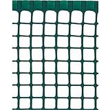 Nortene MAXISQUARE műanyag kertirács - 0,5 x 5 m -  20 x 20  mm - zöld - 2012491