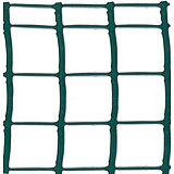 Nortene MEGASQUARE műanyag kertirács - 0,5 x 5 m -  50 x 50  mm - zöld - 2012498
