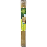 Nortene PLASTICANE félovális profilú műanyag nád, 17 mm, PVC - 2 x 3 m -  bambusz - 2012329