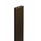 Nortene PROFIL H rögzítő elem - 2 m -  barna - 2010490