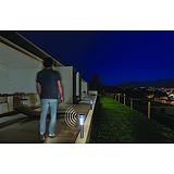 Nortene SENSEIS leszúrható napelemes lámpa - 12 x 36 cm Méret (m) -  ezüst - 2016044
