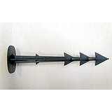 Nortene SPIKE  leszúró tüske  - 12,5 cm  -  fekete - 2011555
