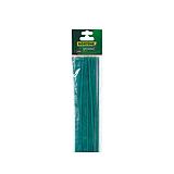 Nortene SPLIT BAMBOO festett bambusz pálcák - 0,4 m -  25 db / csomag - zöld - 140815