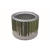 Nortene STEELY BORDURA galvanizált acél ágyásszegély - 0,14 x 6 m - acél - 2017799