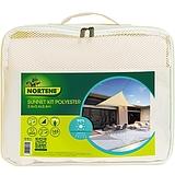 Nortene SUN-NET KIT POLYESTER ?  napvitorla - 3,6 x 3,6 m -  bézs - 2012354