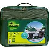 Nortene SUN-NET KIT TISSÉ szőtt napvitorla - 3 x 3 x 3 m -  zöld - 2012344