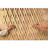 Nortene TRELLIWOOD fa apácarács - 0,5 x 1,5 m -  18 x 6 - fenyő - 170224