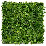 Nortene VERTICAL TROPIC zöldfal trópusi növényekkel - 1 x 1 Méret (m) -  zöld - 2017259