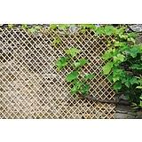 Nortene WICK TRELLIS vessző apácarács - 0,50 x 1,50 - natúr - 2014452