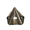 DEVÍN soroszlop 50/30/1,5 mm-es profillal, külső fülekkel