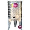 EZIOINOX INOX bortartály 60 literes álló