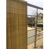 Nortene PLASTICANE félovális profilú műanyag nád, 17 mm, PVC - 1 x 3 m -  bambusz - 2012170