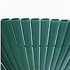 Nortene PLASTICANE OVAL ovális profilú műanyag nád, 13 mm, PVC - 2 x 3 m -  zöld - 2012330