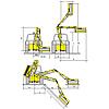 Procomas rézsűkasza BS821DS30F100L