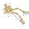 Procomas rézsűkasza BSH4F80